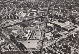 MILANO Dall´aereo - La Fiera Campionaria - 1960 - Milano
