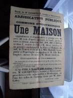 Openbare VERKOOP Une MAISON te D'HOUTKERQUE Anno 1930 Notaire Coudeville Steenvoorde ( zie foto's voor detail ) !