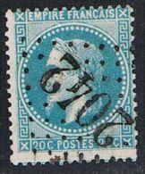 "FRANCE : N° 29A Oblitéré (Napoléon III) - Oblitération : ""GC 2042 (LIGNY En BARROIS -Meuse-)"" - PRIX FIXE - - 1863-1870 Napoléon III Lauré"