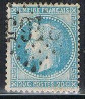"FRANCE : N° 29A Oblitéré (Napoléon III) - Oblitération : ""GC 3465 (STRASBOURG -Bas Rhin-)"" - PRIX FIXE - - 1863-1870 Napoléon III Lauré"