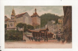 ALLEMAGNE - KARLSBAD - Markt Mit Marktbrunn - Germany