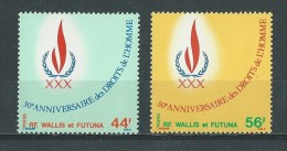 Wallis & Futuna: 224/ 225 ** - Wallis-Et-Futuna