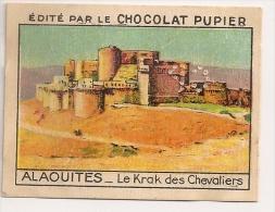 """Image N° 53 De L´album """"L´Asie"""". 1938. Chocolat Pupier. Liban Alaouites Krak Des Chevaliers - Chocolat"""