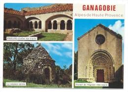 Multivues -PRIEURE DE GANAGOBIE -ANCIEN COUVENT BENEDICTIN...... -Alpes De Haute Provence (04) - Autres Communes