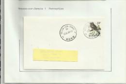 Oblitérations Postal Vresse-sur-Semois Alle-sur-Semois Sugny - Timbres