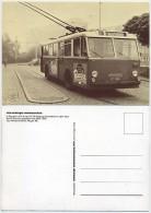 O-Bus Der Linie 41 (ex 02) - Bahnhof Harburg-Bostelbek 1955 - Typ: Henschel 6500, Wagen 301 - Busse & Reisebusse