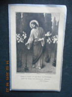 IMAGE PIEUSE Double FAIRE-PART DECES - Elzida NICOLAS 1933 Basse-Terre (Guadeloupe) - Religion & Esotericism