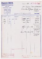 Facture, 92 -- ANTONY -- Fabrique De Parapluies De Luxe, Mon Redel  1953 (différente Des 2 Autres) - France