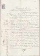 Documents Notariés 1874  à La Réole - Cachets Généralité