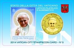 2014 - VATICANO - VATICAN - CANONIZZAZIONE DI GIOVANNI PAOLO II  - NH - MINT - Vaticano