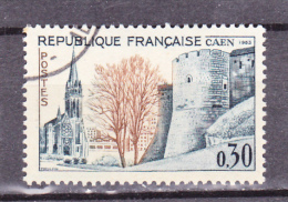 FRANCE   1963  Y.T. N° 1389   Oblitéré  Avec Gomme D'origine - Gebruikt