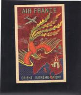 Aviation . AIR FRANCE , Réseau Aérien Mondial ( Reproduction D'une Affiche ) . 1948. - Aviation
