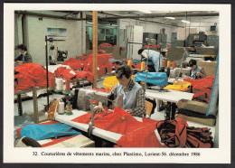 CPM - Les Mille Et Un Travaux De L´Homme - LORIENT - Couturières De Vêtements Marins -1986 - Artisanat