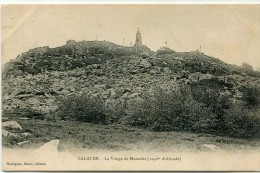 CPA 81 LACAUNE LA VIERGE DE MONTALET - France