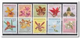 Nicaragua 1962, Postfris MNH, Flowers - Nicaragua