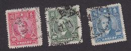 China, Scott #636, 641, 645, Used, Dr. Sun Yat Sen, Issued 1946-47 - China