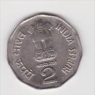 INDIA   2 RUPEES  ANNO 2001 - India