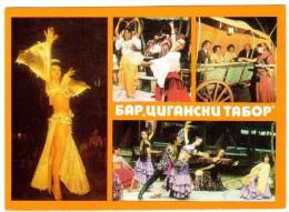 LO178   BULGARIA, BULGARIE - Danses Tziganes - Multivues  - 2scan - Danze