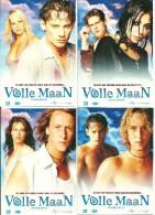 4 Volle Maan Film Movie Postkaart Postcard Boomerang - Pubblicitari