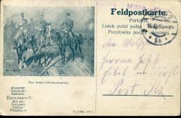WWI AUSTRIA XI.1914.VERY EARLY ILLUSTRATED FELDPOST CARD - Briefe U. Dokumente