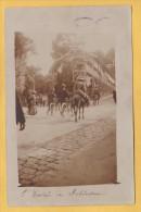 LE PLESSIS ROBINSON 92 ( CARTE PHOTO  )  1908  ANES  UNIQUE ! ! ! - Le Plessis Robinson