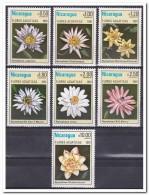 Nicaragua 1981, Postfris MNH, Water Flowers - Nicaragua