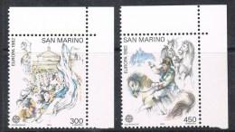 SAINT-MARIN N°1055 ET 1056 N** - San Marino
