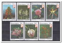 Nicaragua 1982, Postfris MNH, Flowers - Nicaragua
