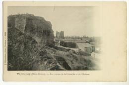 PARTHENAY. - Les Ruines De La Citadelle Et Du Château - Parthenay