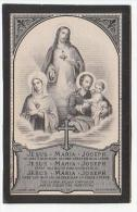Pater Paulus - Petrus Josephus Swaegers Minderbroeder Recollecten Meir 1822 Priester Thielt Luik Liège Mechelen 1881 - Images Religieuses