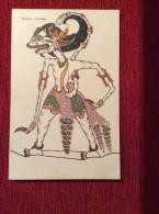 "AK  INDONESIA    "" RADHEN ANOMAN""   EDITION:  UTIGAVE H. VAN INGEN - SOEREBAIA     PRE-1904. UNDIVIDED BACK - Indonesien"