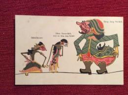 "AK  INDONESIA    "" SANG JANG NERADA  ""   EDITION:  UTIGAVE H. VAN INGEN - SOEREBAIA     PRE-1904. UNDIVIDED BACK - Indonesien"