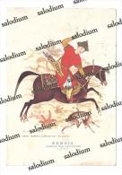 PERSIA - Illustratore - Caccia Cacciatore Cavallo Horse - Storia Postale Annullo A Targhetta Ore Serali - Non Classificati