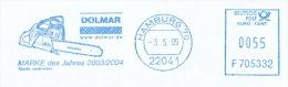 Freistempel 6358  Motorsäge - Marcofilia - EMA ( Maquina De Huellas A Franquear)