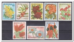 Nicaragua 1988, Postfris MNH, Flowers - Nicaragua