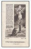 Doodsprentje Maria Catharina AERTS Echtg. Carolus Keustermans Meerle 1877 Overbroek-Brecht 1948 - Images Religieuses