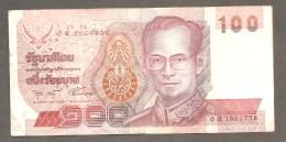Thailande 100 BHT - Thaïlande