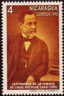 NICARAGUA LOUIS PASTEUR Sc 2108 MNH 1995 - Louis Pasteur