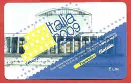 TESSERA FILATELICA ITALIA - 2008 - Festival Internazionale Della Filatelia Italia 2009 - 0,60€ - 6. 1946-.. Repubblica