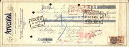 LETTRE DE CHANGE - 1934 Argenterie ARGENTAL Paris De Mme BOT Pezenas - 1900 – 1949