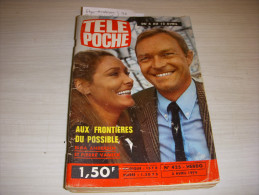 TELE POCHE 425 03.04.1974 VANECK SHEILA Lucien RAULT Mireille DELCROIX AGOSTINI - Télévision