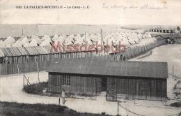 17  -  SAINTES -   Le Camp Des Allemands  - écrite   - 2 Scans - Saintes