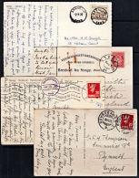 A5183 NORWAY, 4 Postcards - Norvège