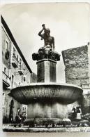 GIULIANO DI ROMA - FONTANA DEL FAUNO SCULTORE E.M. DI PALMA FALCO - Frosinone