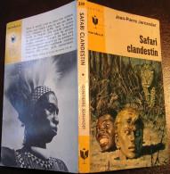 MJ339 Safari Clandestin De Jean-Pierre JERNANDER - Coll. Marabout Junior : Espionnage En Afrique - Marabout Junior