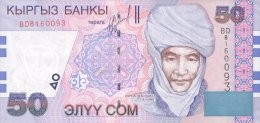 Kyrgyzstan 50 Som 2002  Pick 20 UNC - Kirghizistan
