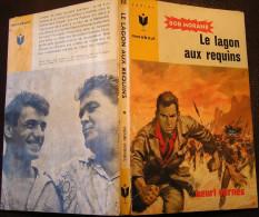 MJ218 Le Lagon Aux Requins Bob MORANE De Henri VERNES Chez Marabout Junior - Books, Magazines, Comics