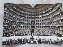 Italia  MILANO, Teatro Alla Scala, Interno  -music -composer - Opera -  Vera Fotografia     D125672 - Milano (Milan)