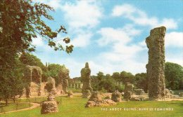 CPM BURY ST. EDMUNDS - THE ABBEY RUINS - Angleterre