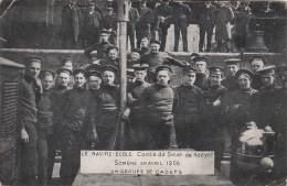 Le Navire Ecole Comte De Smet De Naeyer, Sombré En Avril 1906, Groupe De Cadets (pl15952) - Guerre